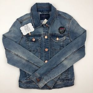 NWT Aeropostale Denim Jean Jacket